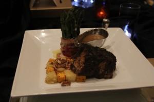 Tuscan Pork Roast with Sauvignon Blanc-Rosemary Jus