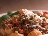Gnocchi and Pork Bolognese