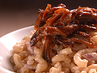 BBQ Pork Mac & Cheese